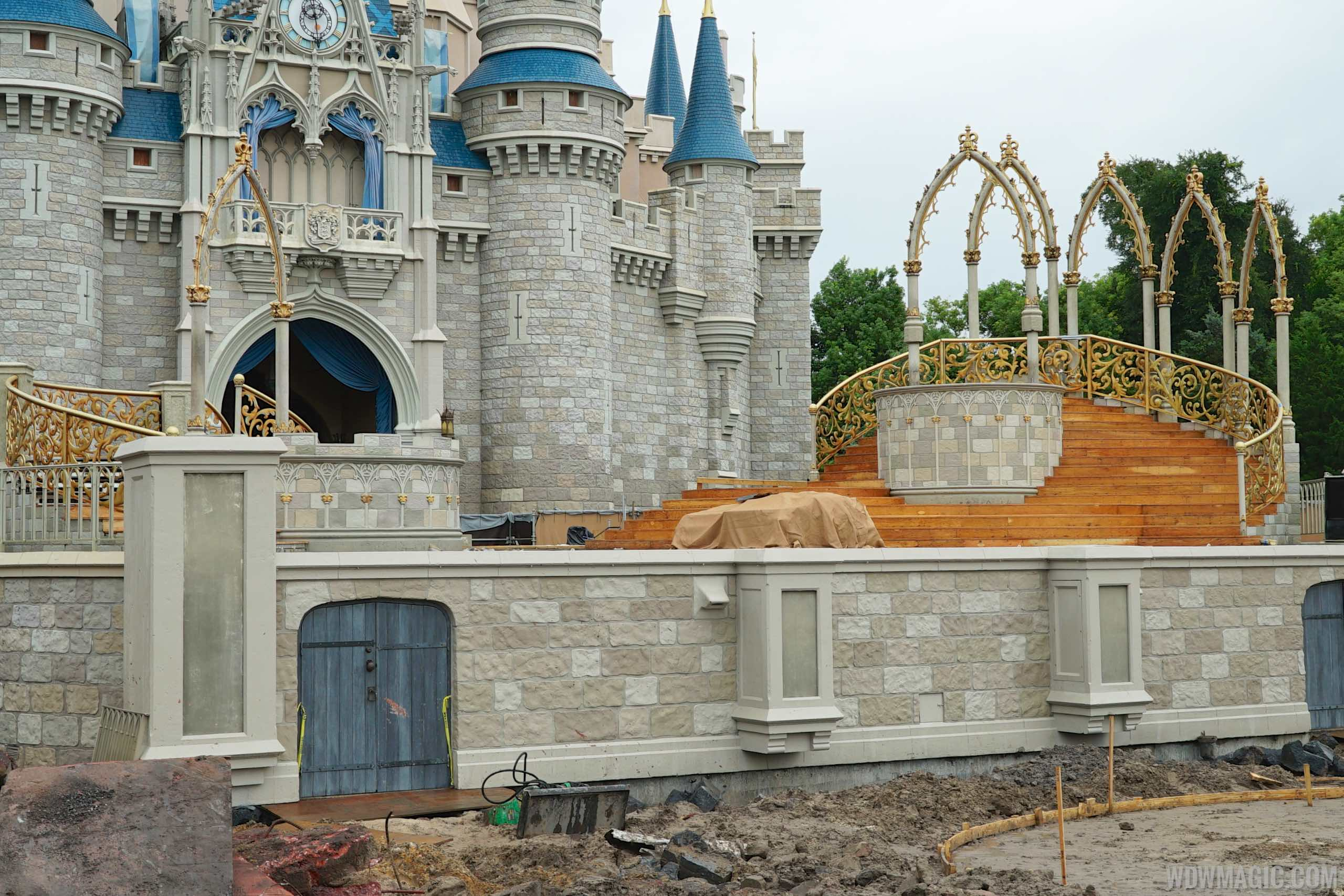 Castle Forecourt refurbishment