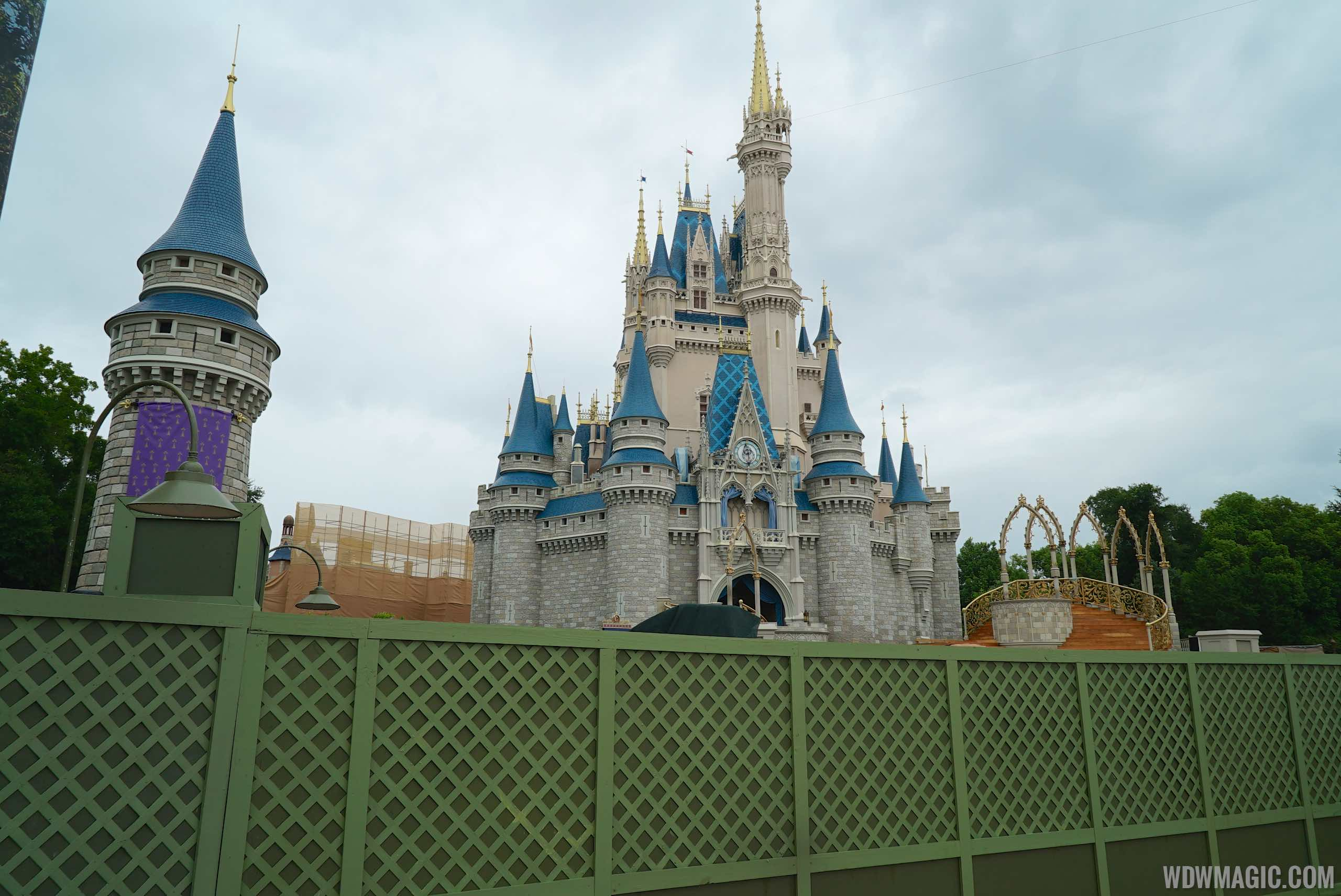 Cinderella Castle forecourt refurbishment