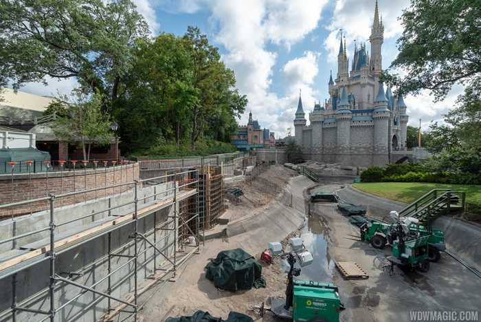 Liberty Square to Fantasyland walkway expansion construction - May 2019