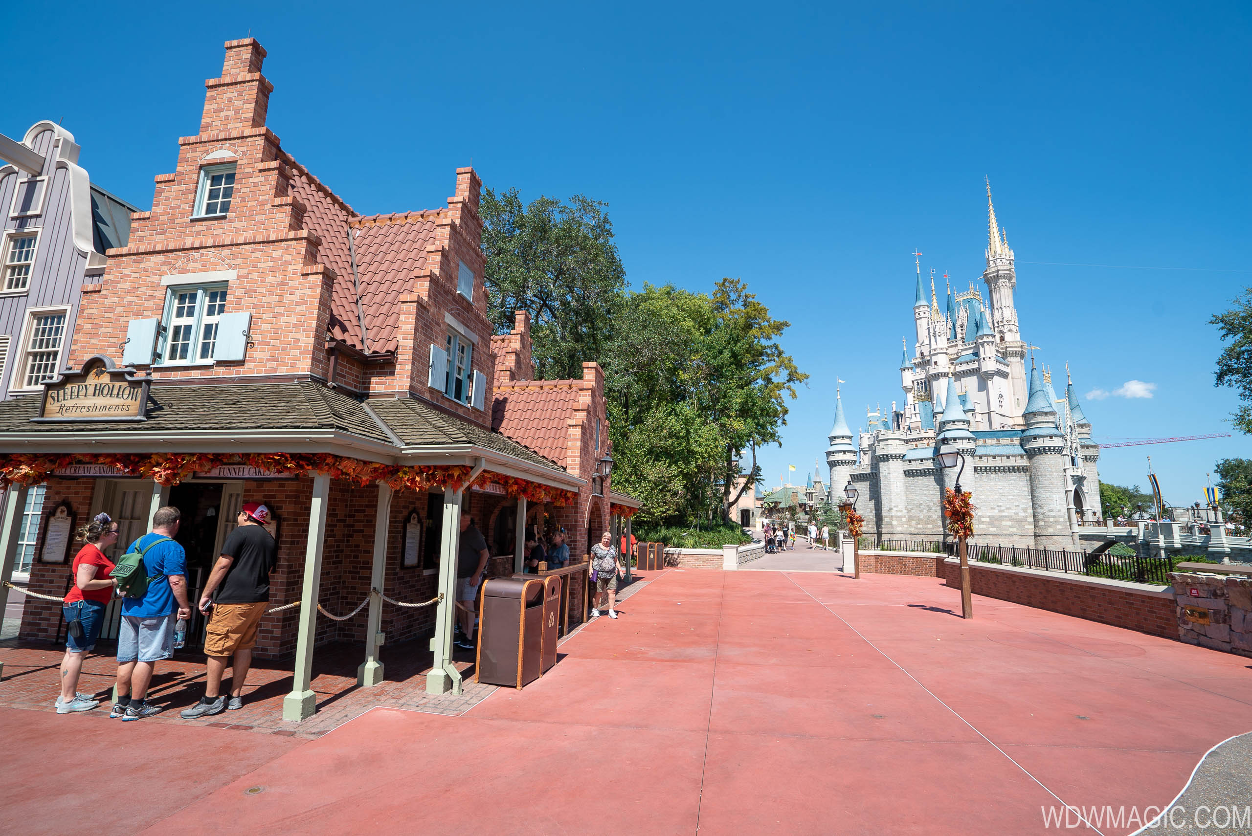 Liberty Square to Fantasyland walkway expansion completed