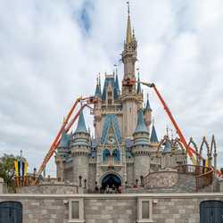 Cinderella Castle enhancements - March 9 2020
