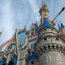 Cinderella Castle painting - March 12 2020