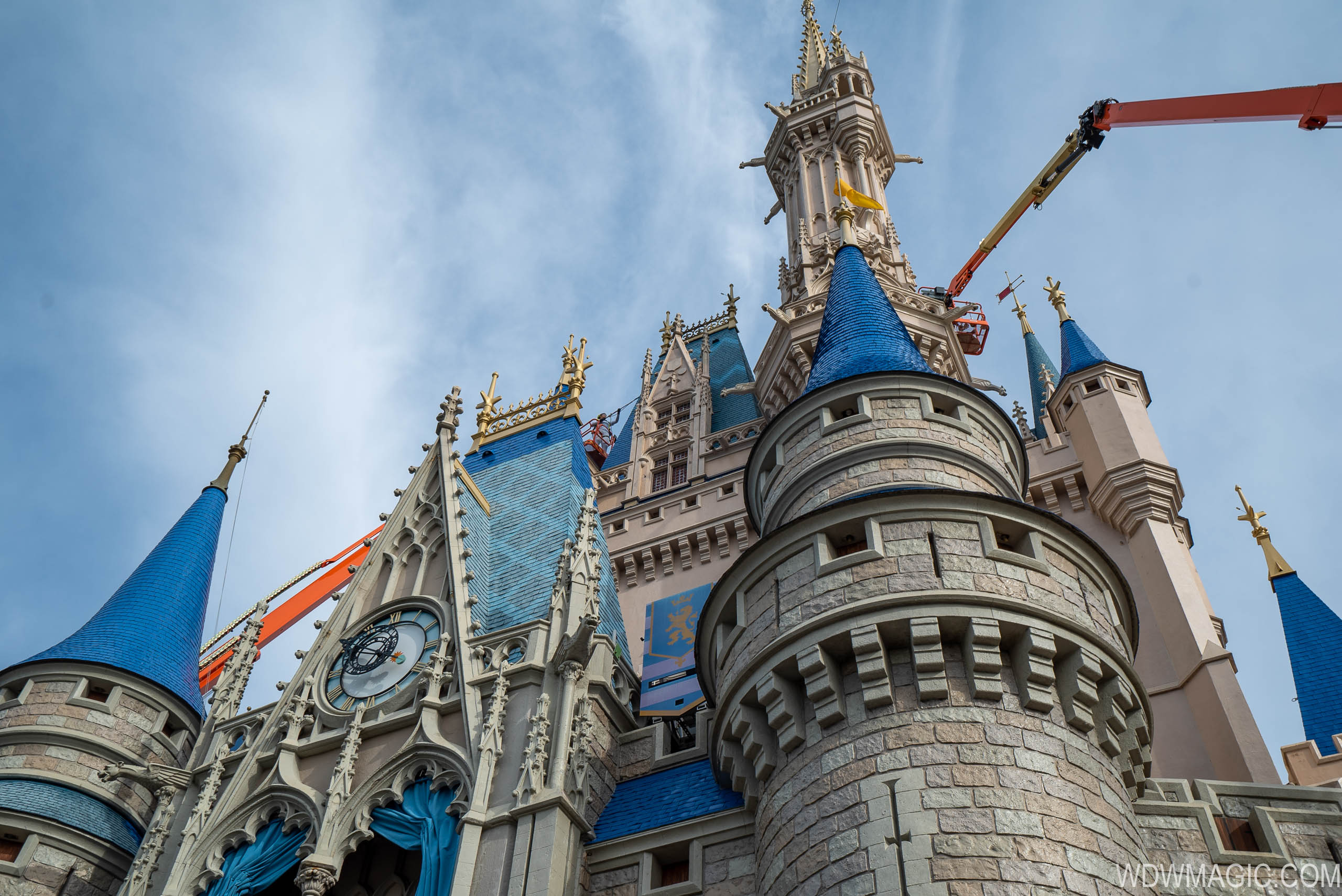 Cinderella Castle painting - March 12 2020
