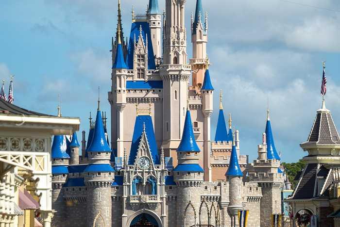 Cinderella Castle painting - March 15 2020