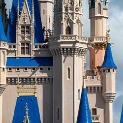 Cinderella Castle painting - March 15 2020