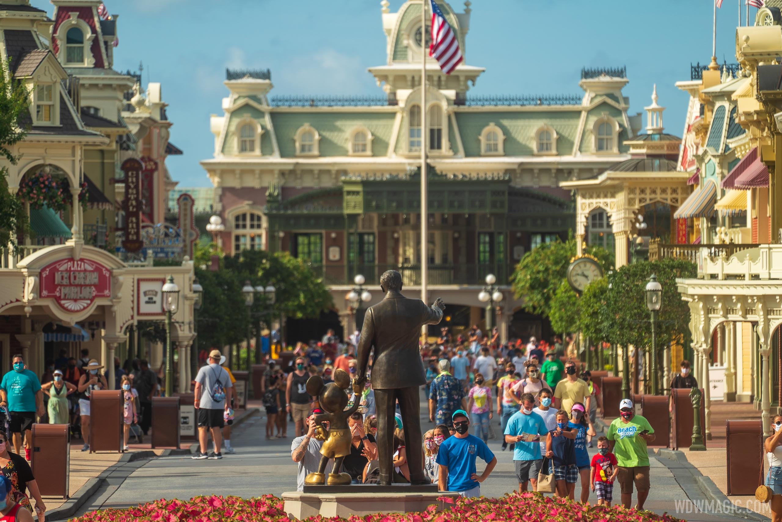 Magic Kingdom is a popular choice for returning guests