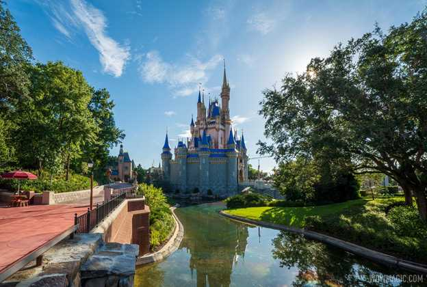 Completed new-look Cinderella Castle