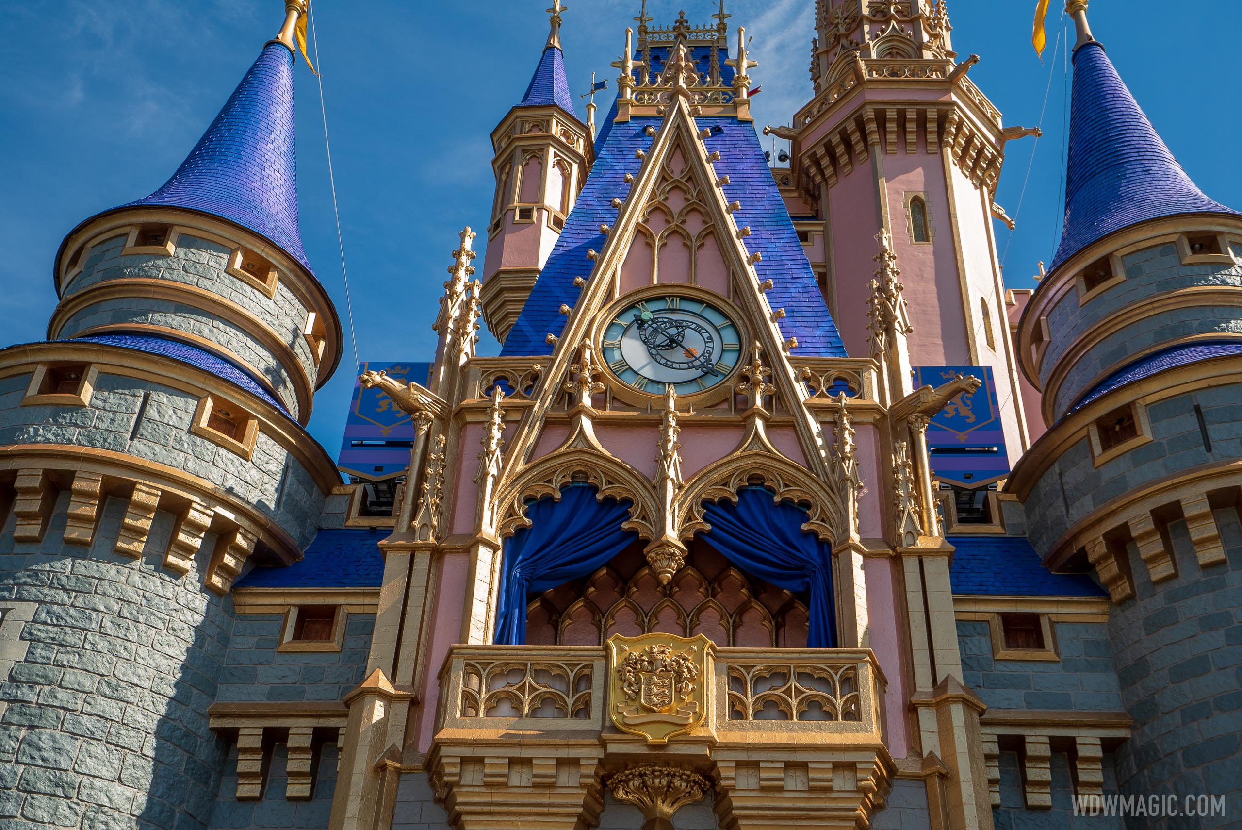 The new look is inspired by Cinderella Castle