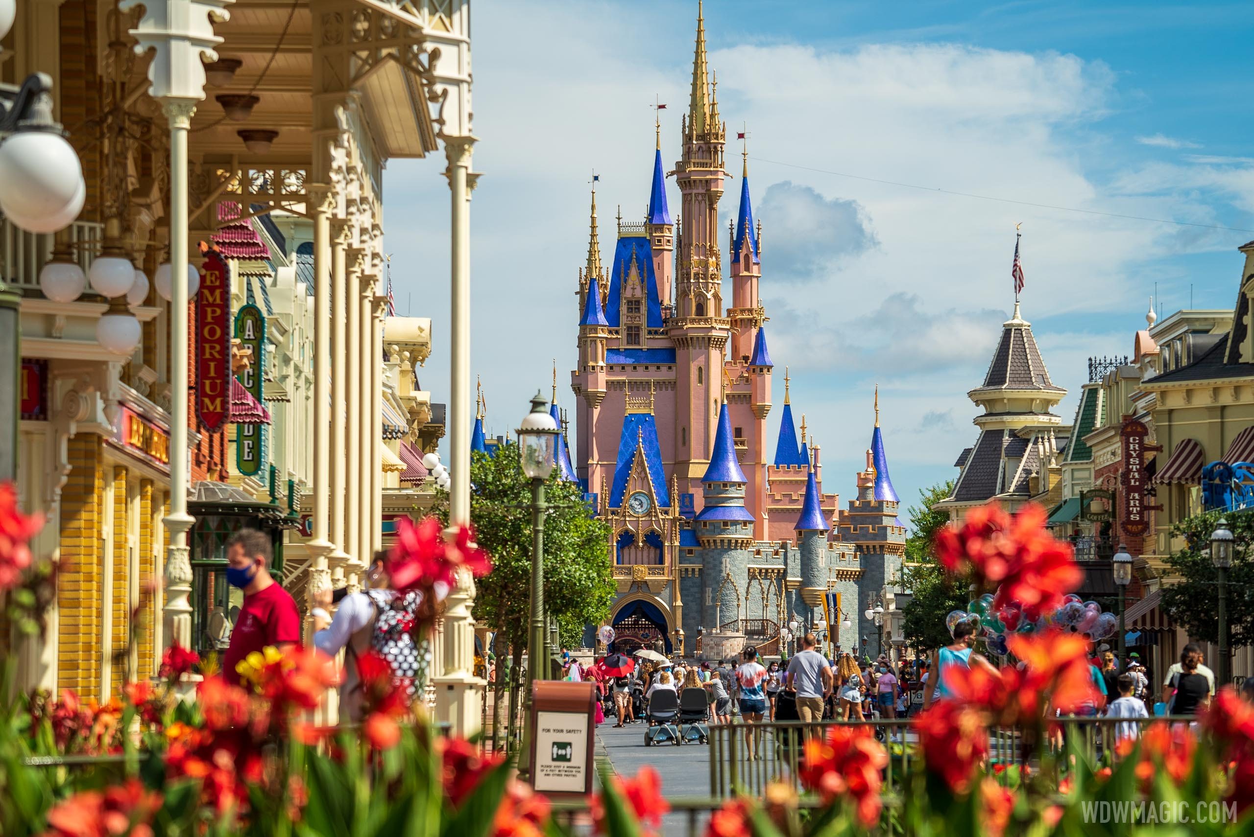 Disney has to annonce any plans to use vaccine passports at Walt Disney World