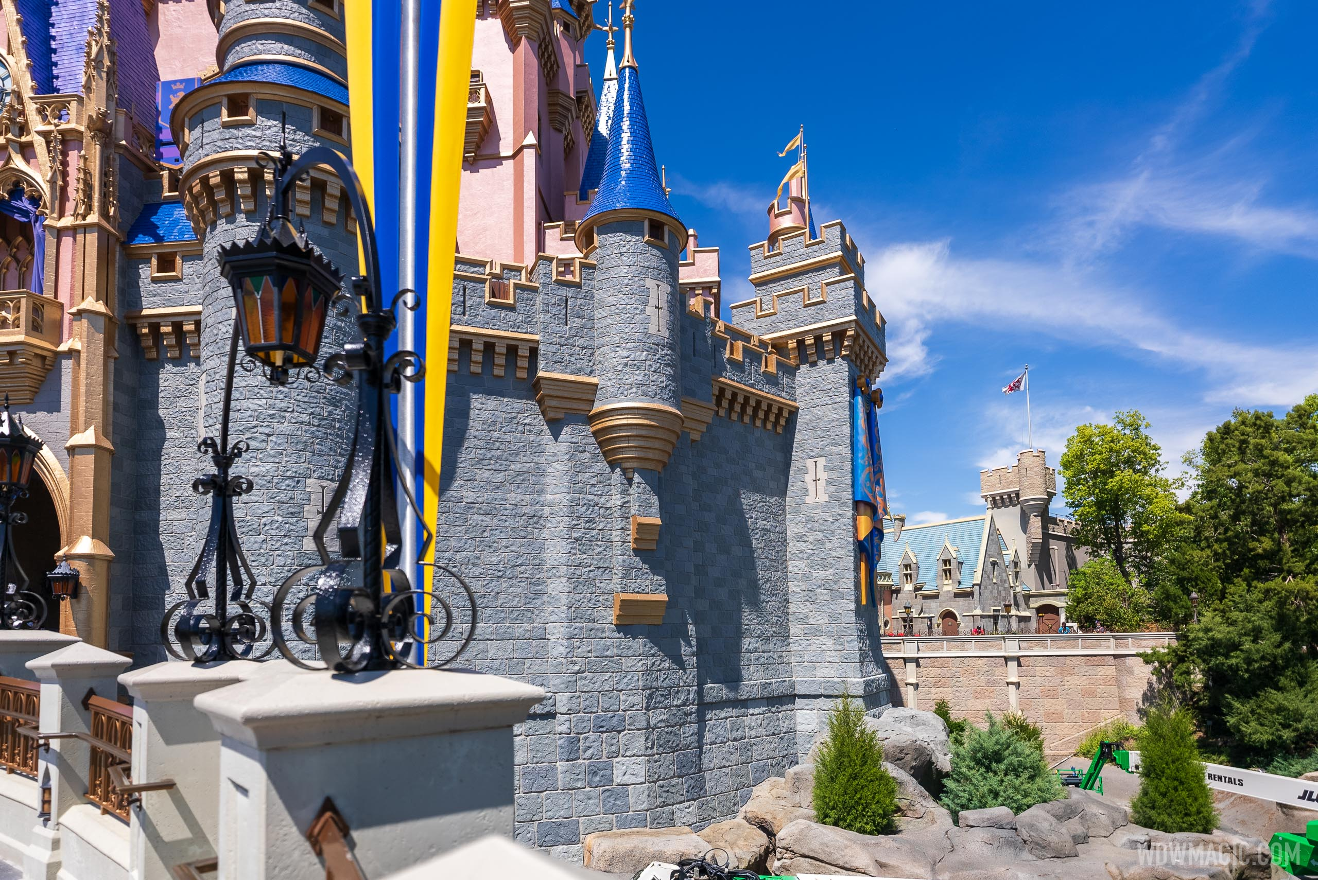 Cinderella Castle - east side