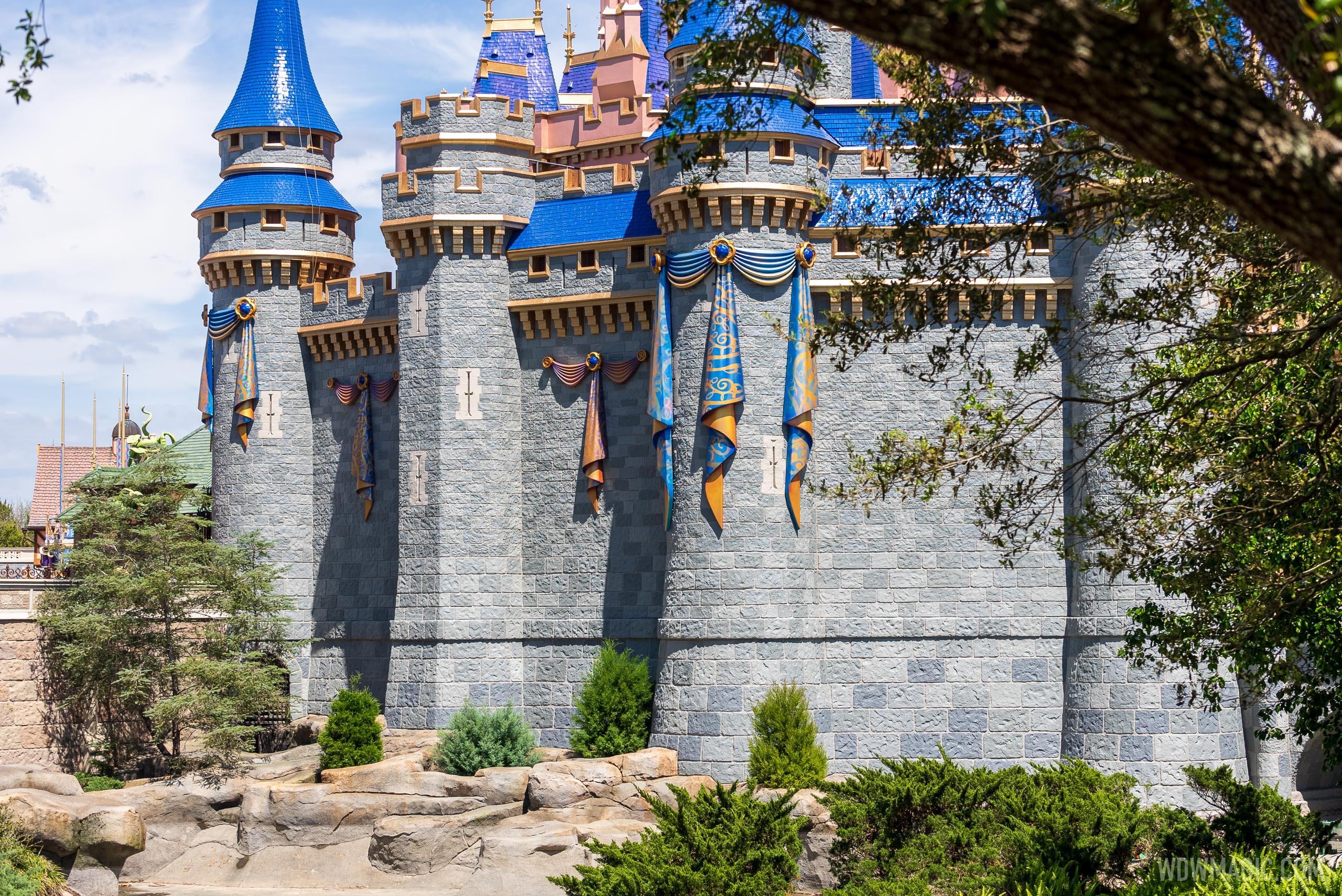Cinderella Castle - west side