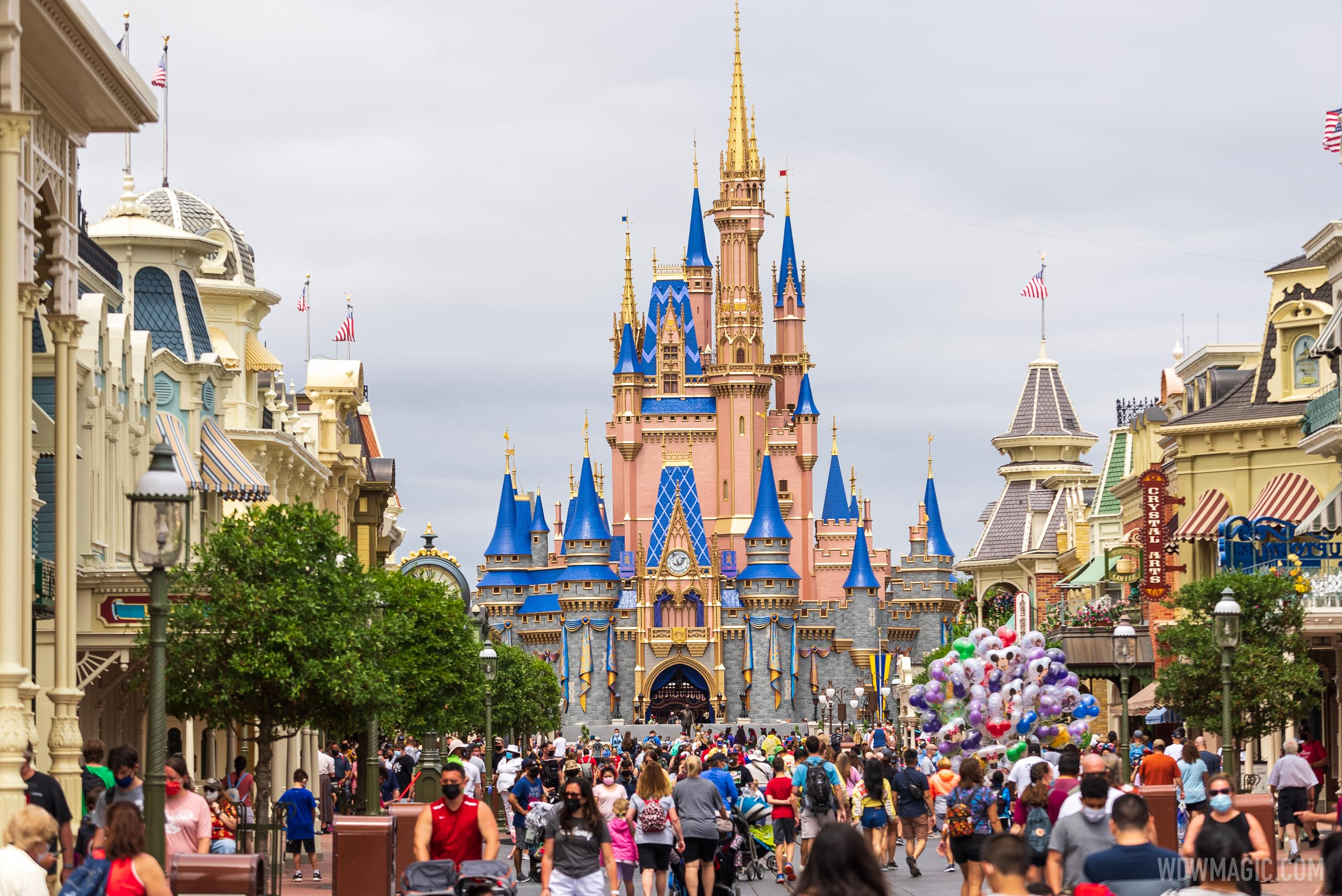 New C.D.C. guidelines will ease the way for more guests to travel to Walt Disney World
