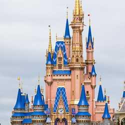 50th anniversary Cinderella Castle additions - April 1 2021