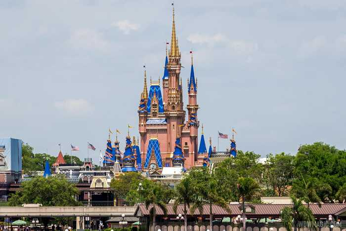 50th anniversary Cinderella Castle additions - April 15 2021