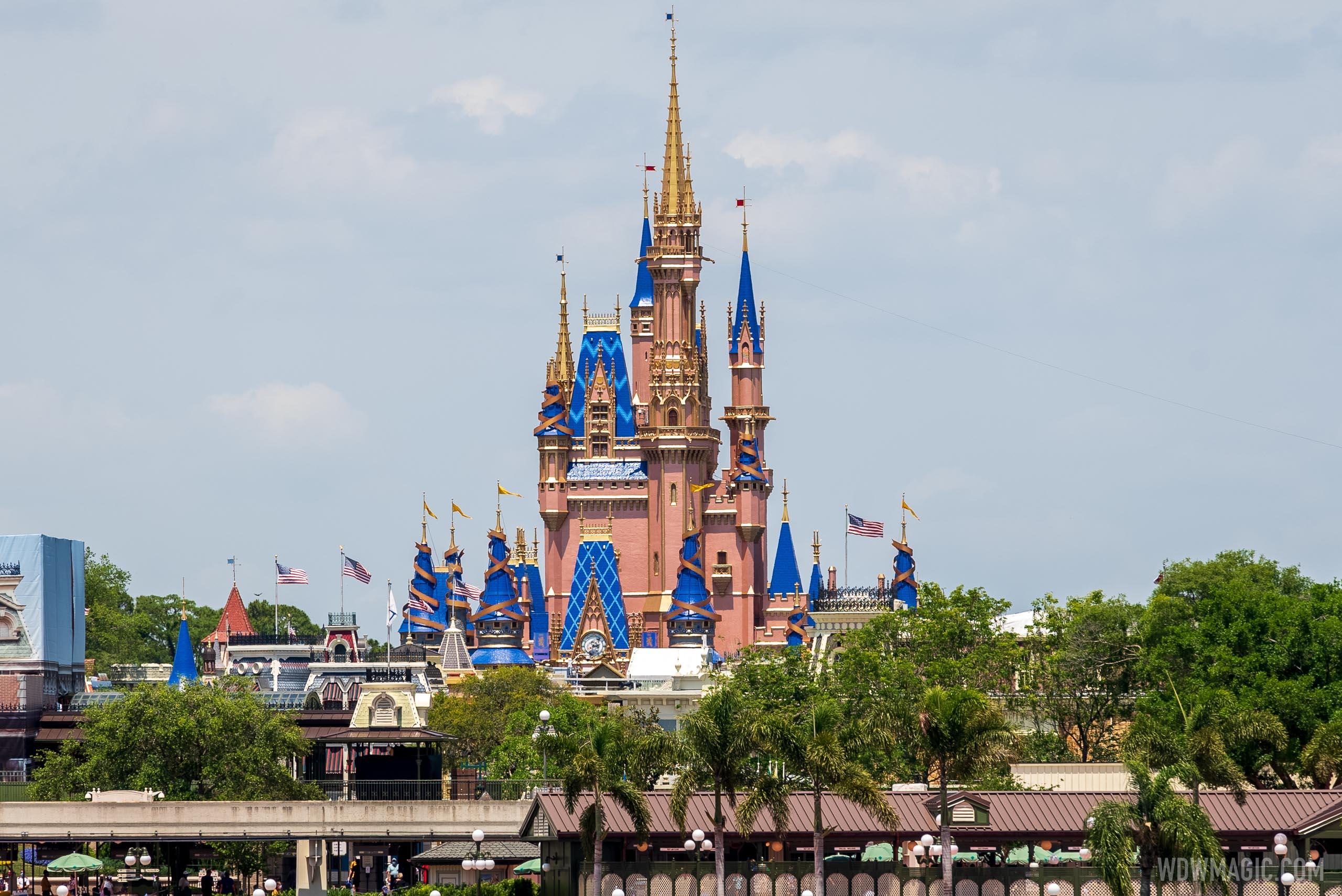 50th anniversary Cinderella Castle additions - April 15 2021