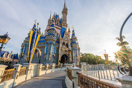 Walls down at the Cinderella Castle stage as refurbishment nears completion