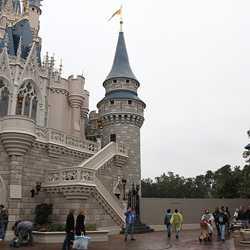 Cinderella Castle front side refurbishment