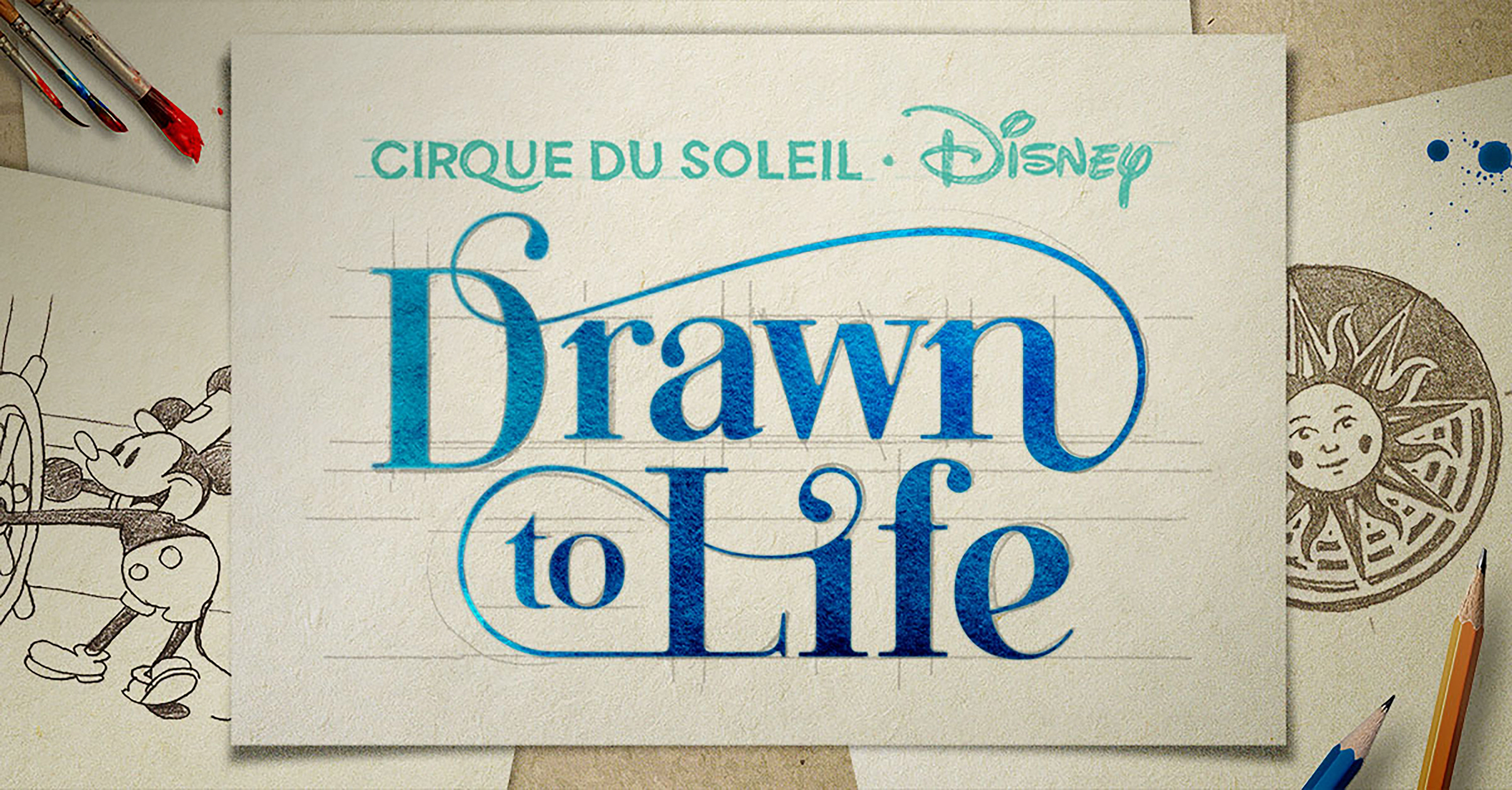 Cirque du Soleil Drawn to Life logo