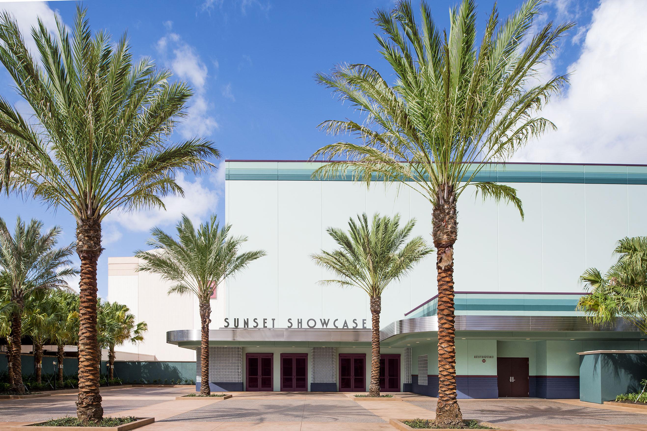 Sunset Showcase building