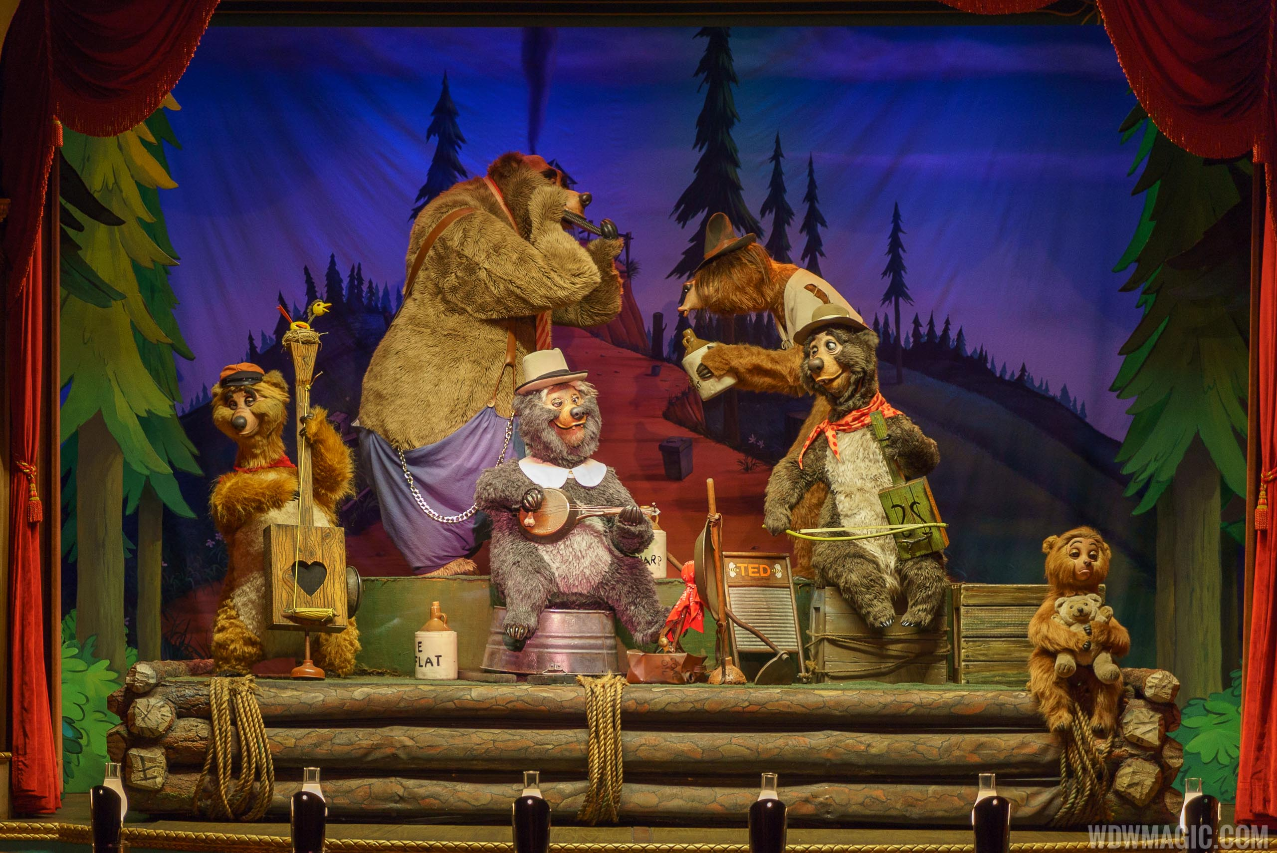 Country Bear Jamboree overview