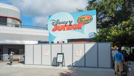PHOTOS - Exterior work underway for Disney Junior Dance Party