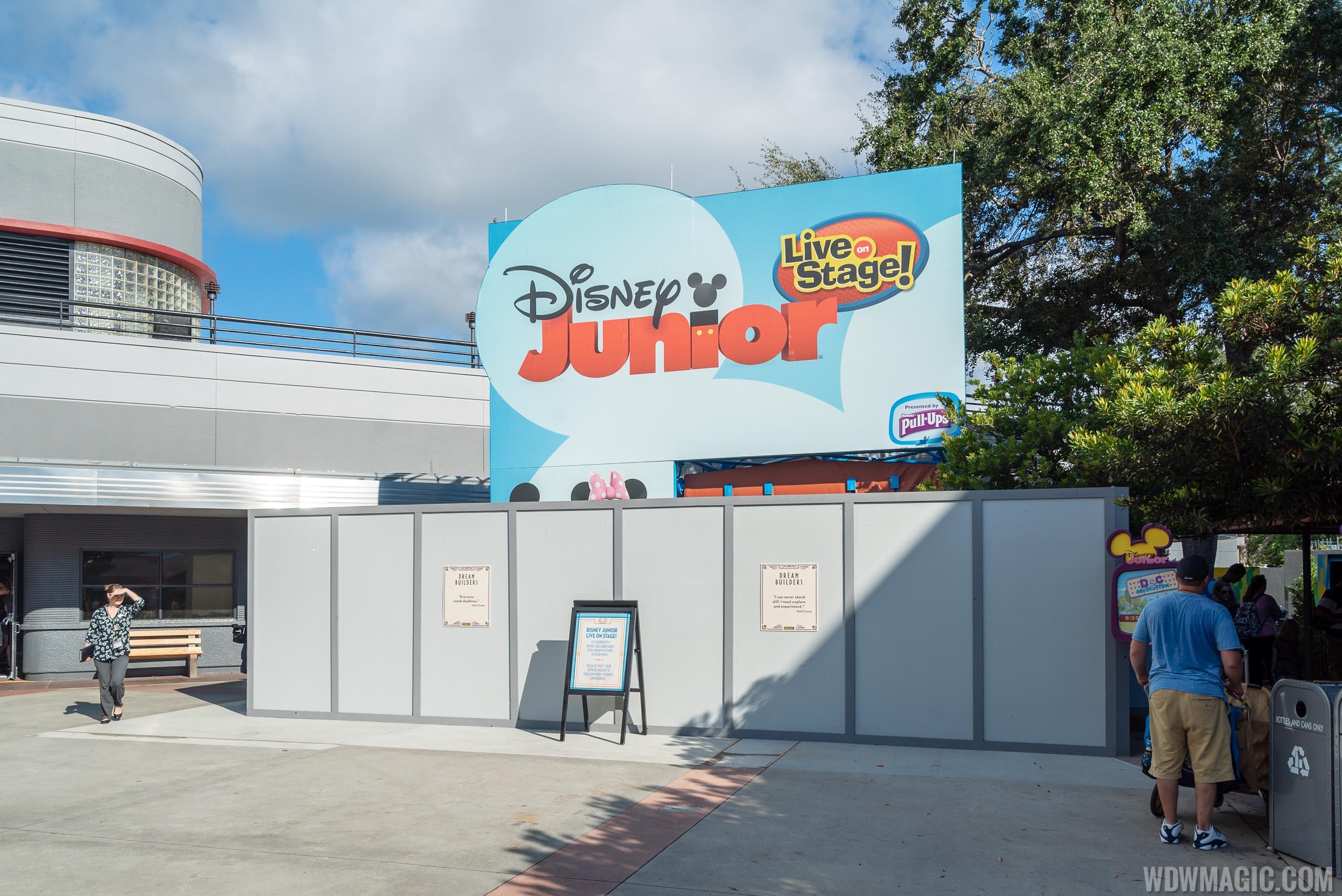 Disney Junior Dance Party construction