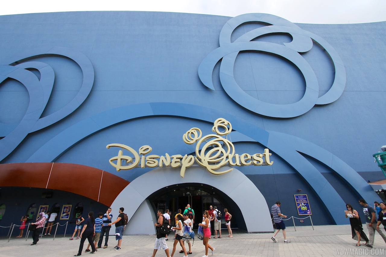 Disney Quest will close in 2016