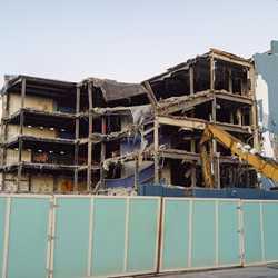 Disney Quest main building demolition