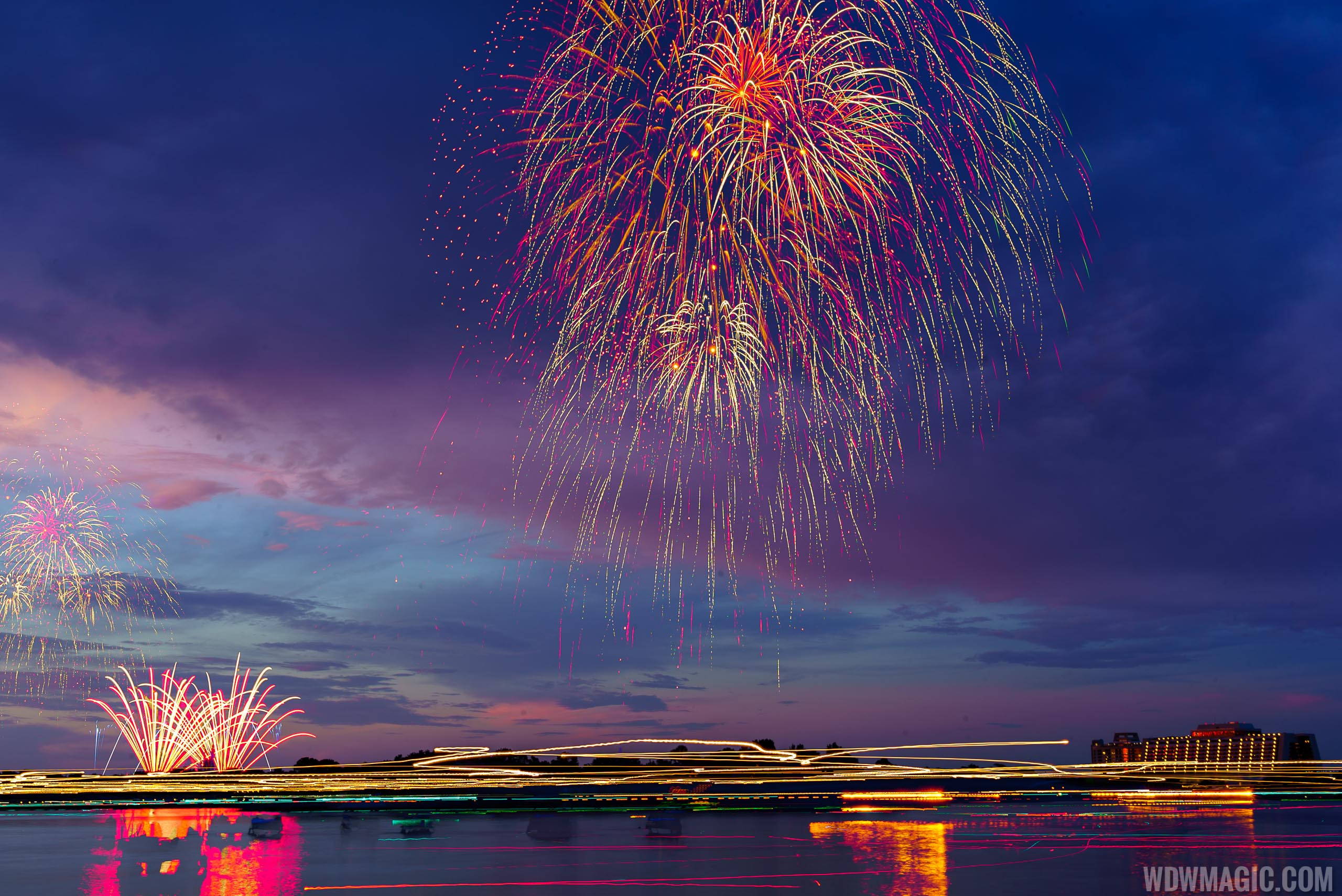 Disney's Celebrate America firework show