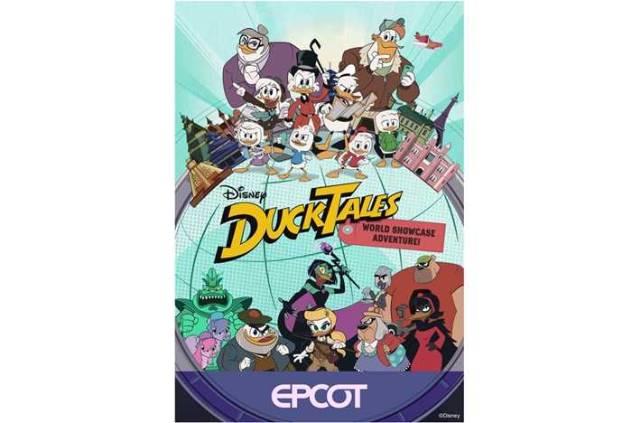 Disney's DuckTales World Showcase Adventure poster