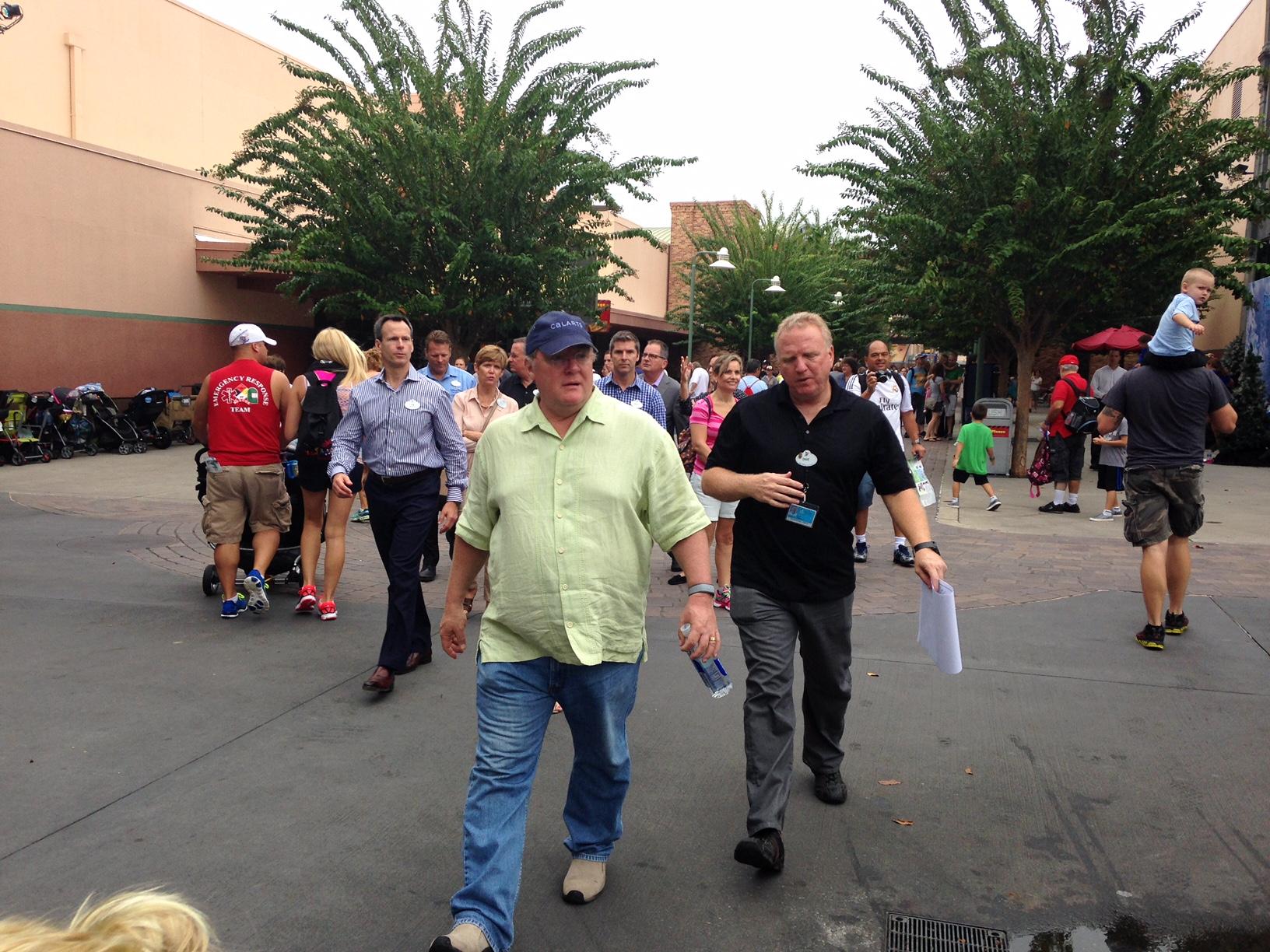 PHOTOS - Key Walt Disney Imagineers and Disney Executives at