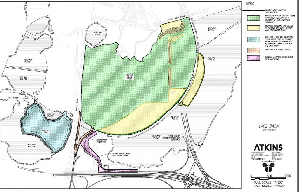 Early Disney's Hollywood Studios expansion permits