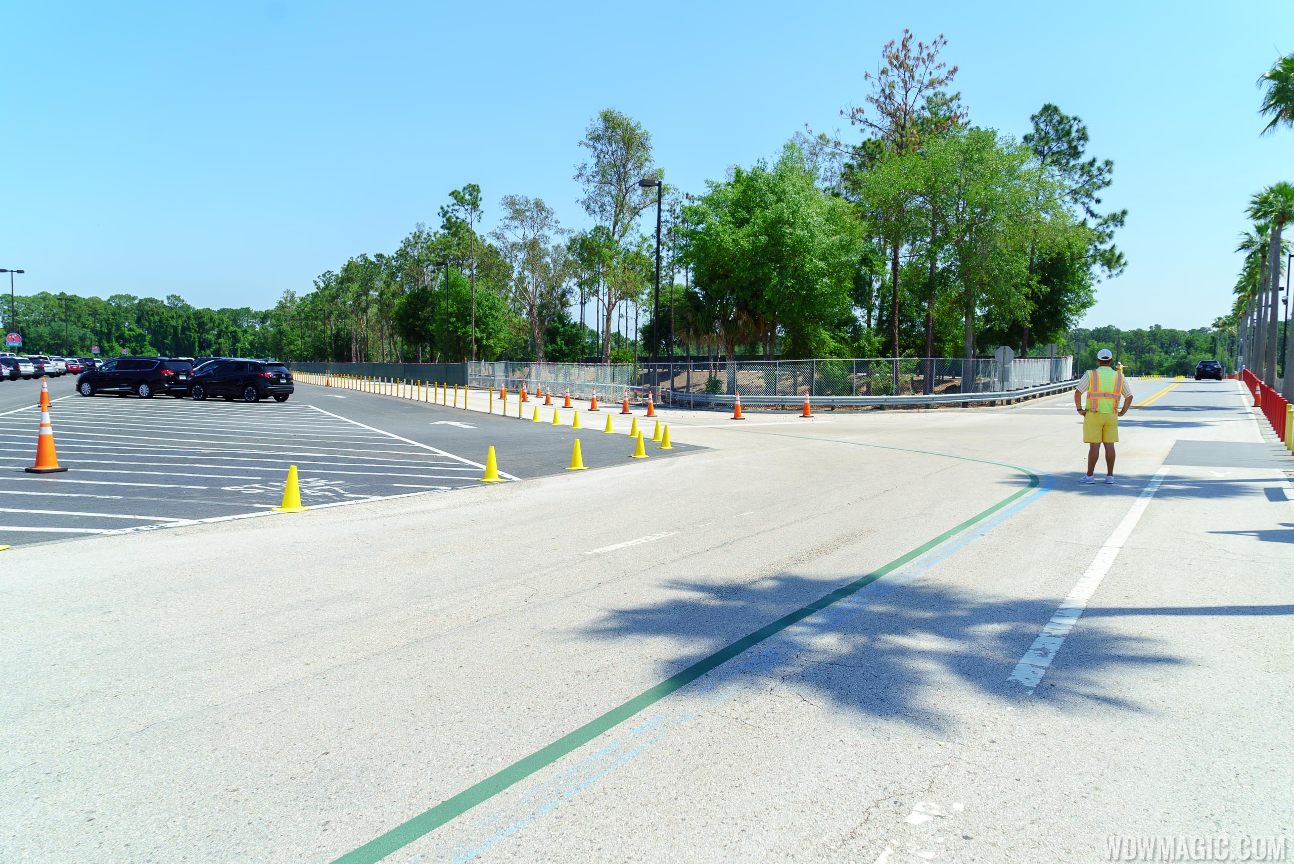 Parking Lot demolition at Disney's Hollywood Studios