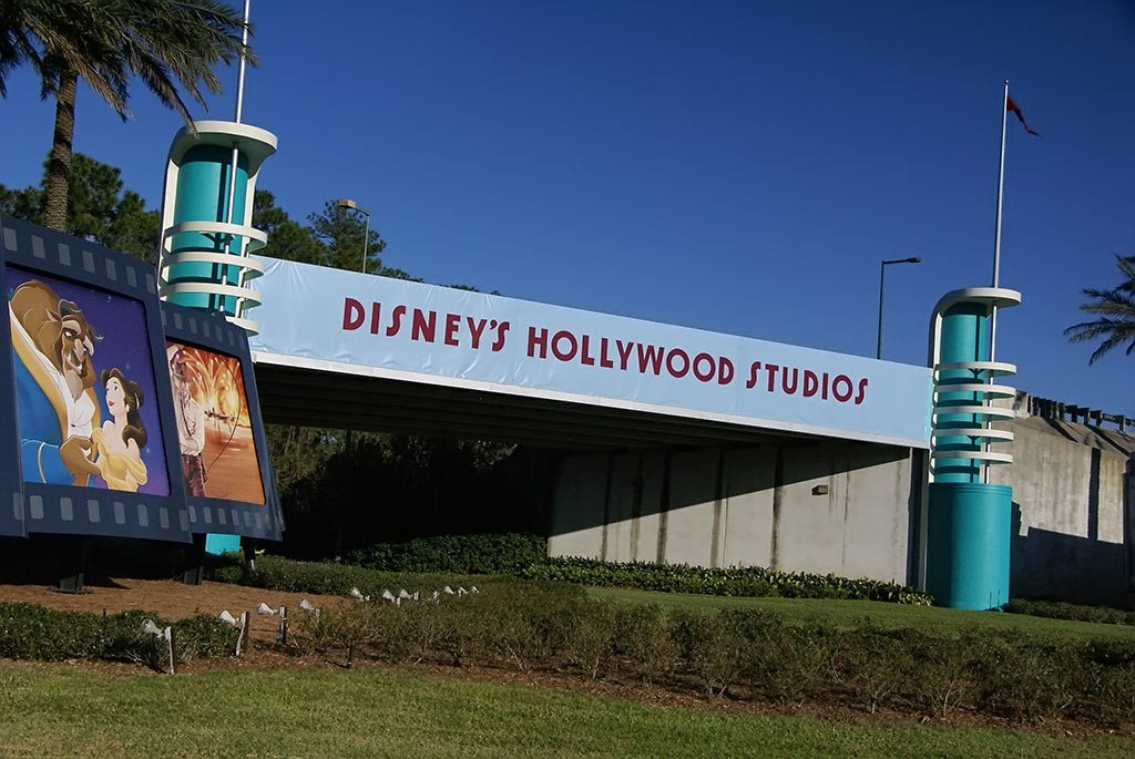 The former Disney's Hollywood Studios main entrance