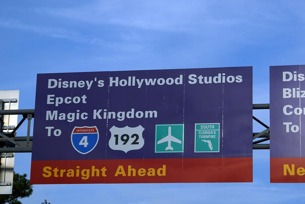Disney's Hollywood Studios road signs appearing all over property