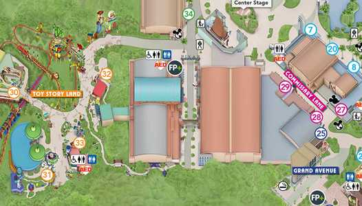 PHOTOS - New Guide Map for Disney's Hollywood Studios