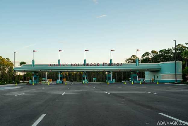 New auto-plaza at Disney's Hollywood Studios