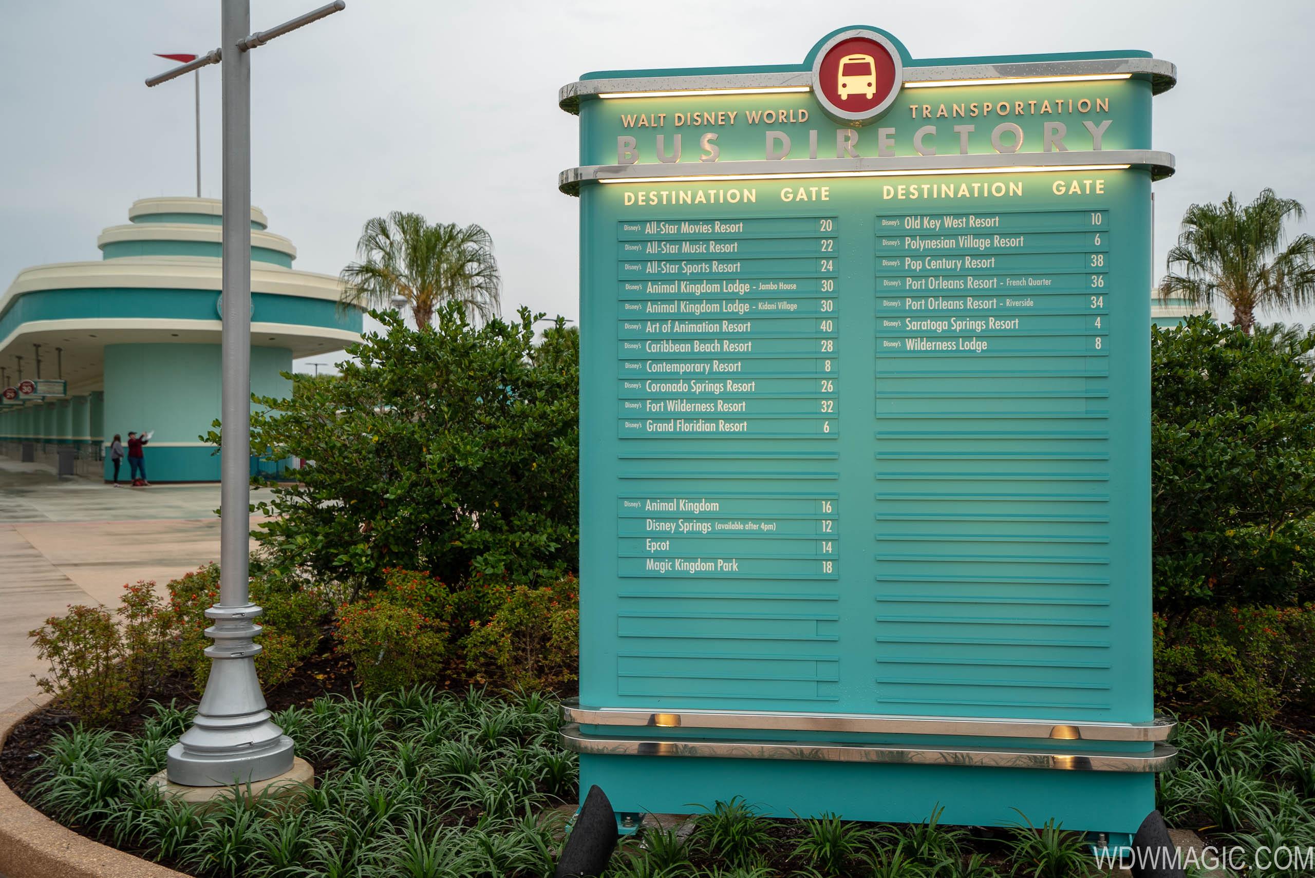 New resort bus loops at Disney's Hollywood Studios