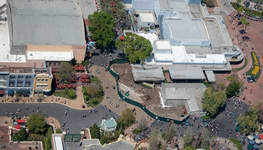 PHOTOS - Changes come to Grand Avenue and Star Tours areas ahead of Galaxy's Edge opening this summer
