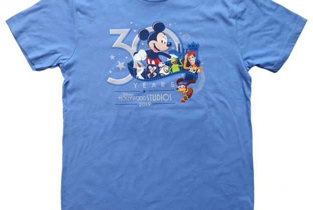 30th Anniversary merchandise for Disney's Hollywood Studios