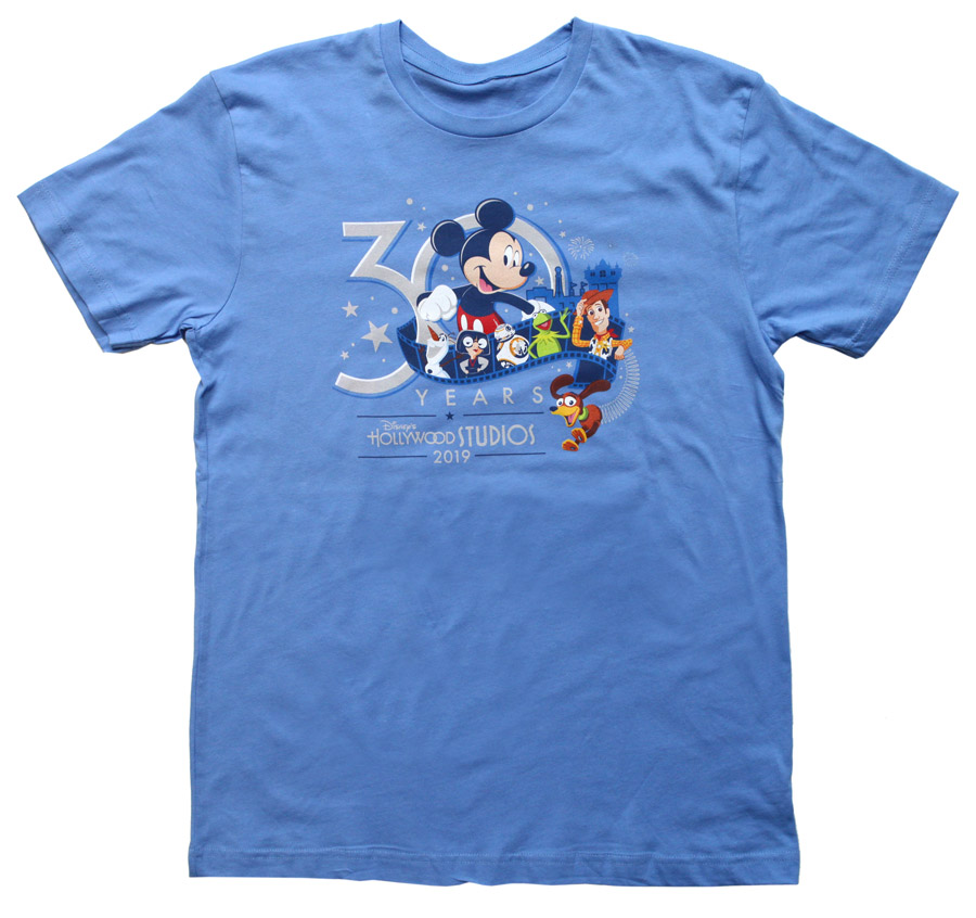 30th Anniversary merchandise for Disney's Hollywood Studios