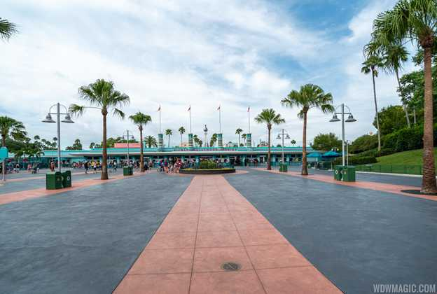 Disney's Hollywood Studios completed main entrance