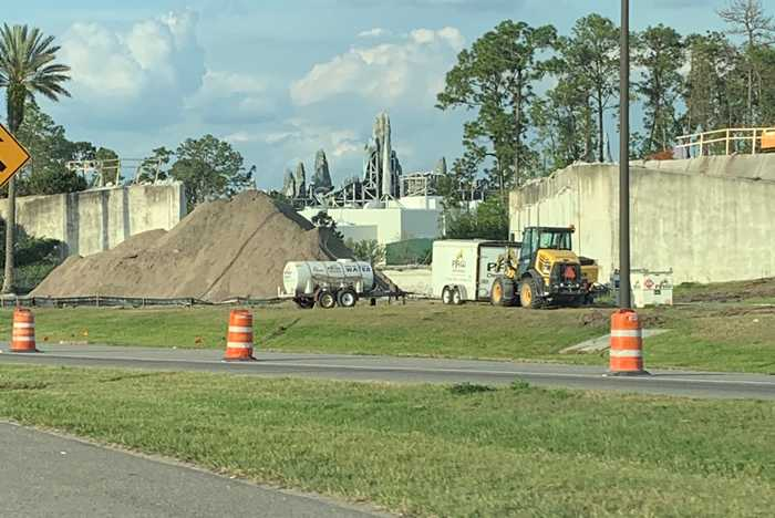 Disney's Hollywood Studios main entrance demolished