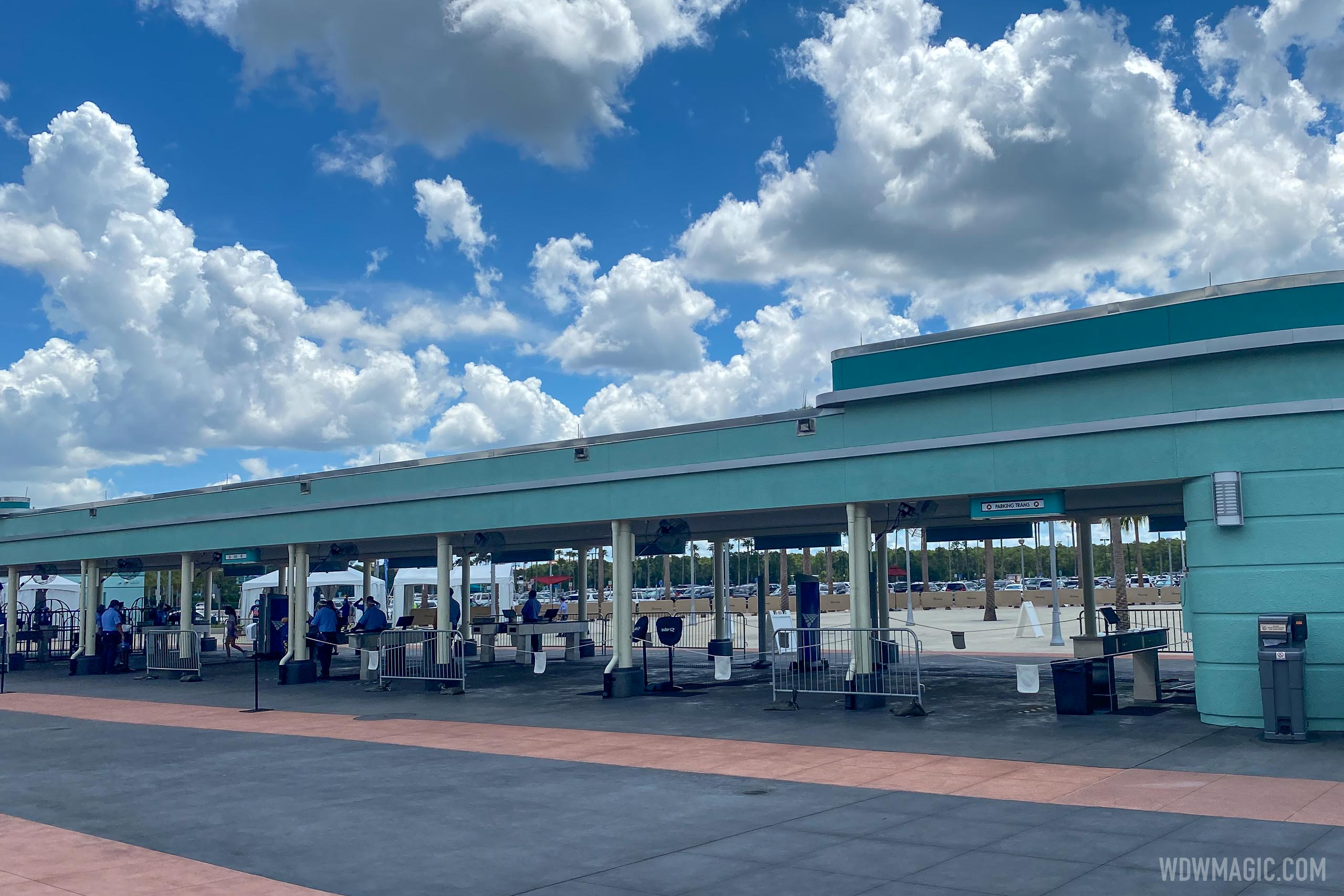 New walk-through security scanners at Disney's Hollywood Studios