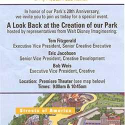 Disney's Hollywood Studios 20th birthday