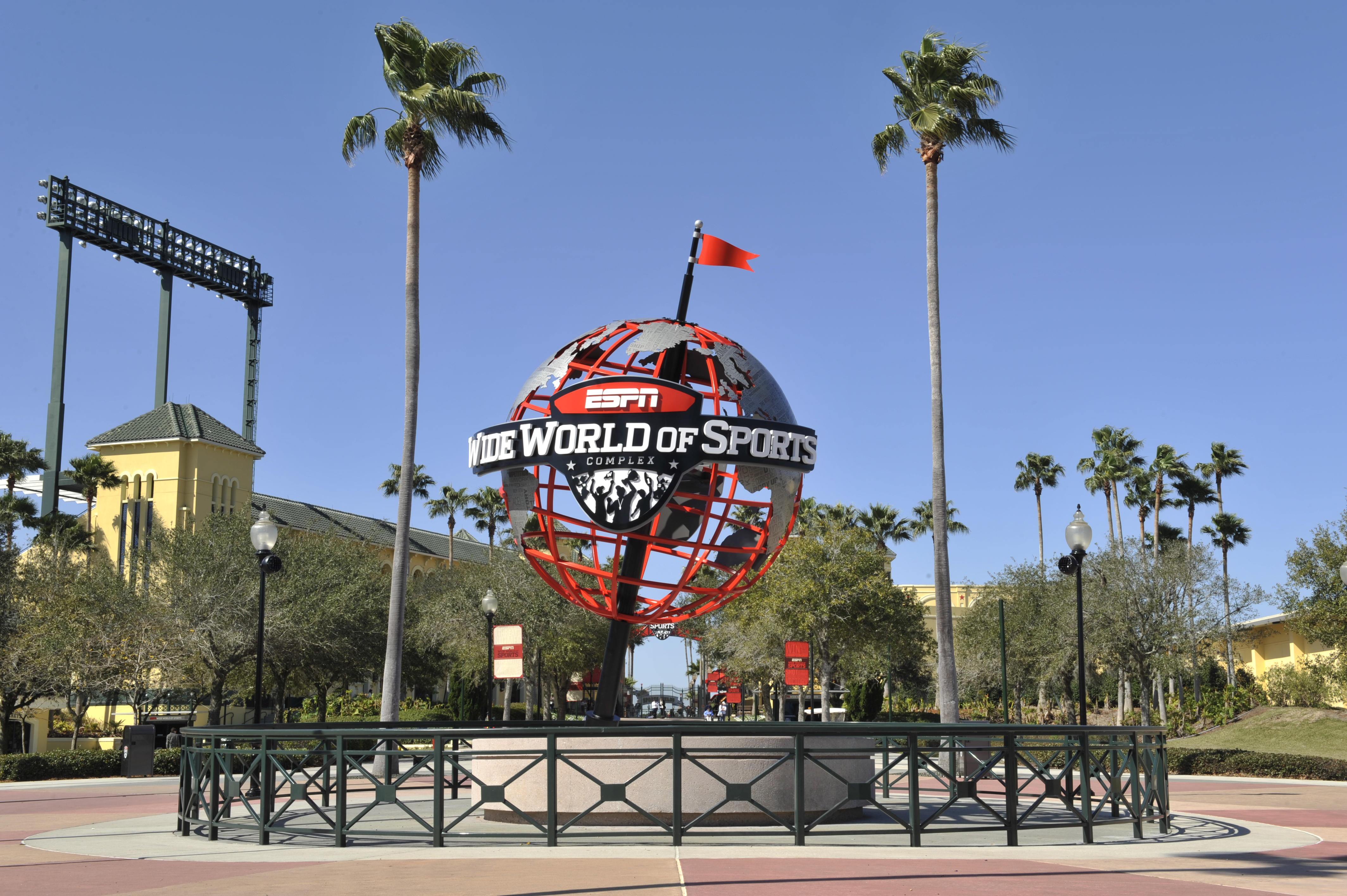 ESPN Wide World of Sports could be a self-contained campus for the rest of the NBA season