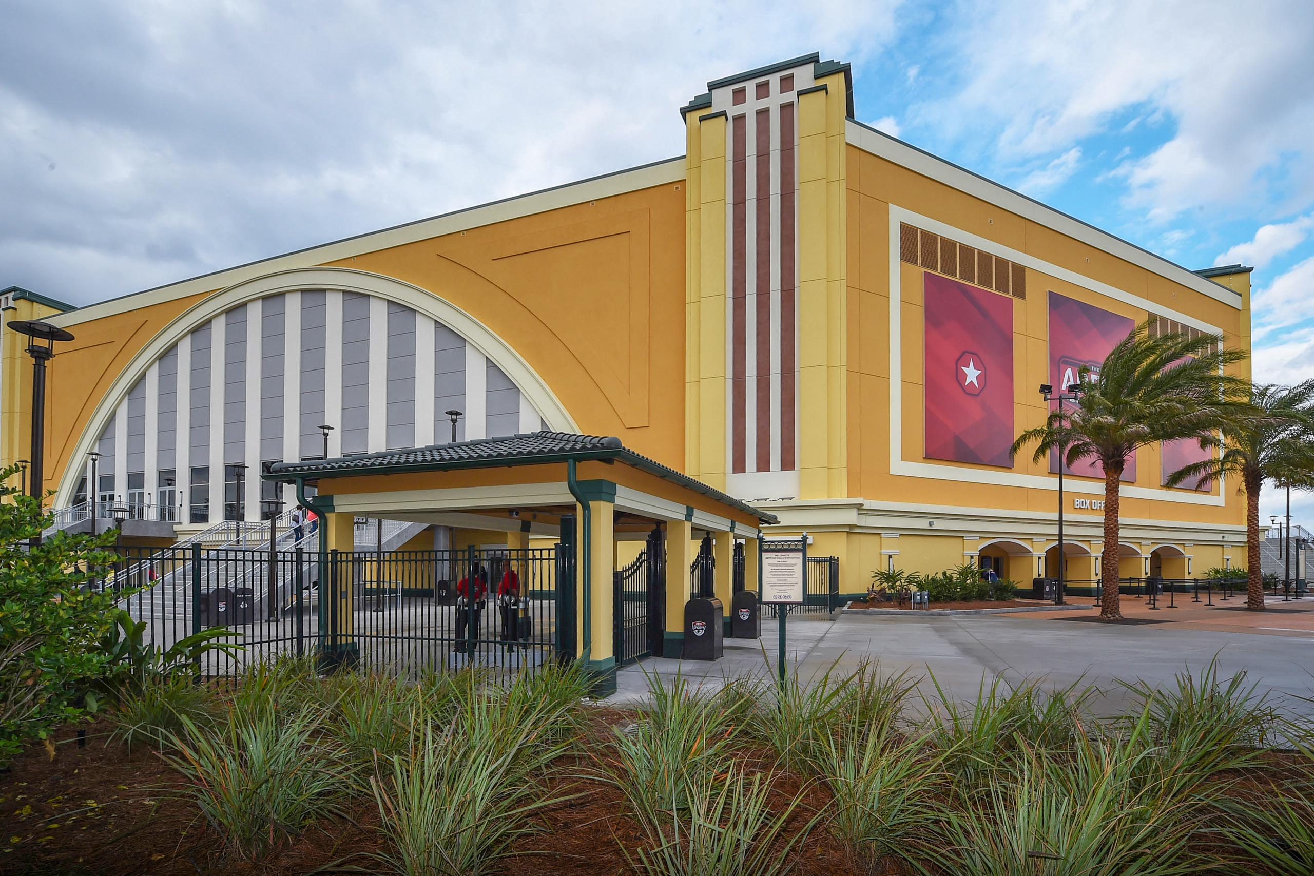 The Arena at ESPN Wide World of Sports Complex grand opening