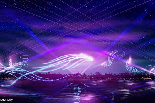 Overnight testing of 'EPCOT Forever' underway at EPCOT