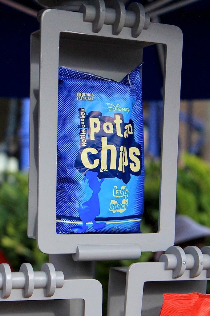 Disney branded potato chips