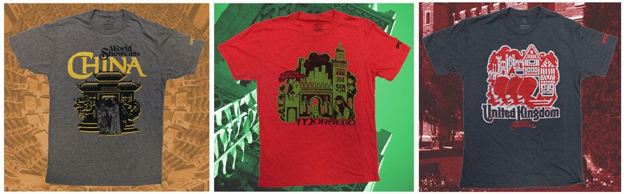 30th Anniversary World Showcase T-Shirts